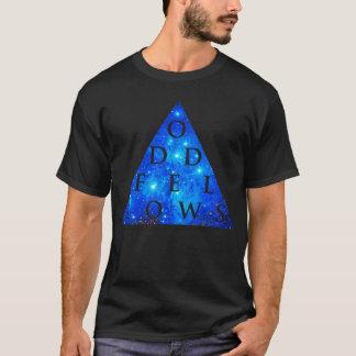 Het ONEVEN Ontwerp van de Melkweg van KAMERADEN T Shirt