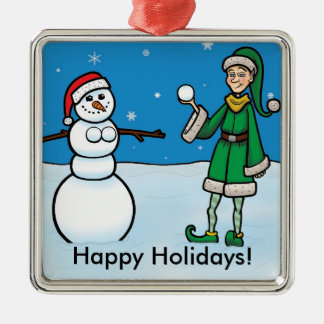 Het ongehoorzame Ornament van het Elf #1