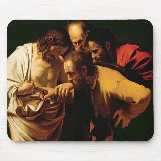 Het ongeloof van St. Thomas, 1602-03 Muismatten