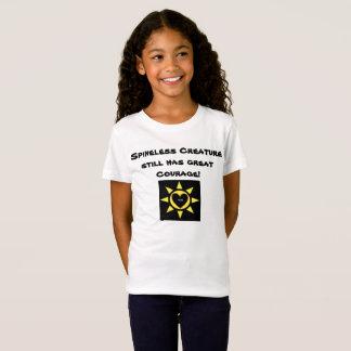Het ongewervelde Schepsel heeft nog grote Moed T Shirt
