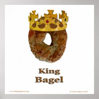 Het Ongezuurde broodje van de koning Poster