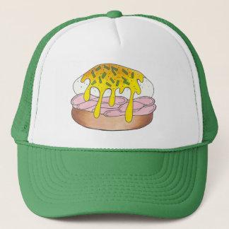Het Ontbijt van de Ham van Benedict Food Foodie Trucker Pet