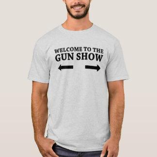 Het onthaal aan het Pistool toont T Shirt