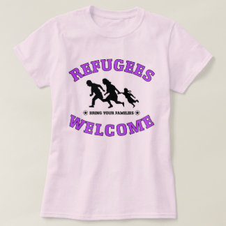 Het Onthaal van vluchtelingen brengt Uw Families T Shirt