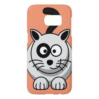 Het ontwerp mobiel hoesje van de kat voor de