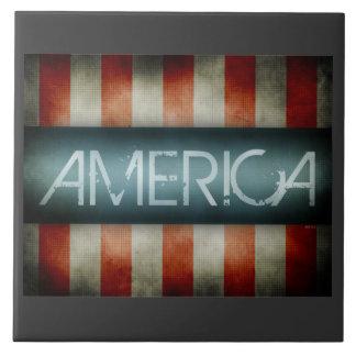 Het Ontwerp van Amerika Keramisch Tegeltje
