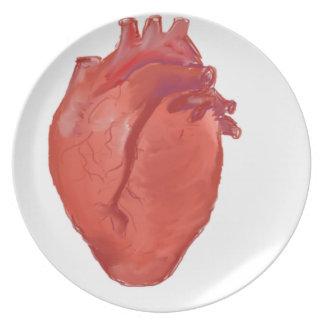 Het ontwerp van de Anatomie van het hart Melamine+bord