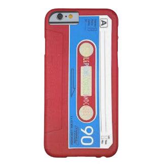 Het Ontwerp van de Band van de cassette Barely There iPhone 6 Hoesje