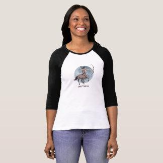 Het ontwerp van de Boogschutter voor lang het T Shirt