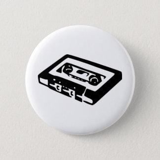 Het Ontwerp van de Cassette van de muziek Ronde Button 5,7 Cm