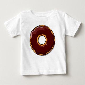 Het Ontwerp van de Doughnut van de Chocolade van Baby T Shirts