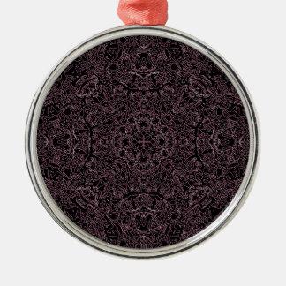 Het Ontwerp van de drievuldigheid Zilverkleurig Rond Ornament