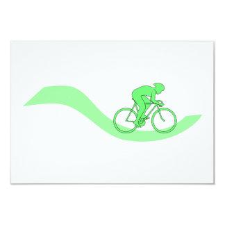 Het Ontwerp van de fietser in Groen Kaart