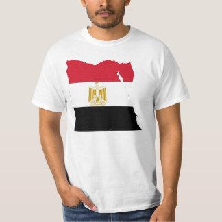 Het ontwerp van de het landvlag van Egypte T-shirts