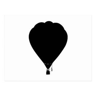 Het ontwerp van de hete luchtballon briefkaart