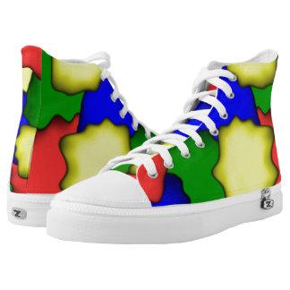 Het Ontwerp van de kleur High Top Schoenen