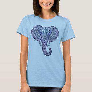 Het ontwerp van de Kunst van de Olifant van de T Shirt