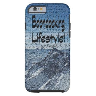 Het Ontwerp van de Levensstijl van Boondocking Tough iPhone 6 Hoesje