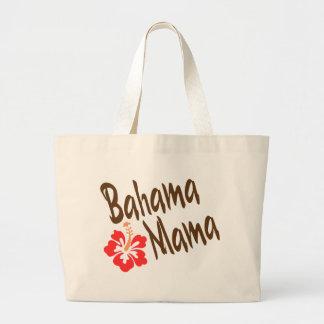 Het ontwerp van de Mamma's van Bahama met bloem Hi Grote Draagtas