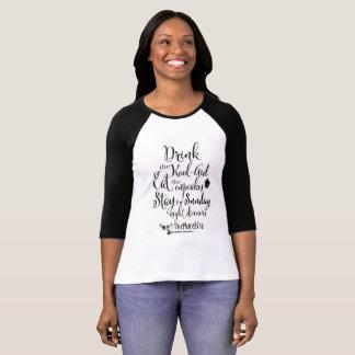 het ontwerp van de #meettheMorellisdouane T Shirt