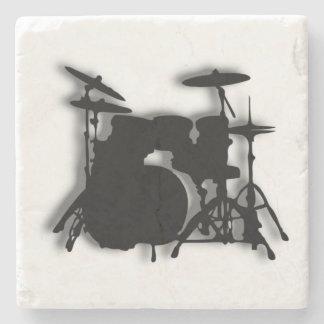 Het Ontwerp van de Muziek van het drumstel Stenen Onderzetter