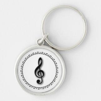 Het Ontwerp van de Nota van de Muziek van de Sleutelhanger