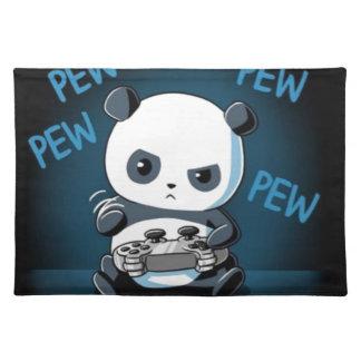 Het Ontwerp van de Panda van het gokken Placemat