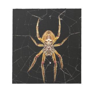 Het ontwerp van de spin notitieblok