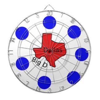 Het Ontwerp van de Stad van Dallas, Texas (Grote Dartbord