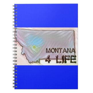 Het Ontwerp van de Trots van de Kaart van de Staat Ringband Notitieboek