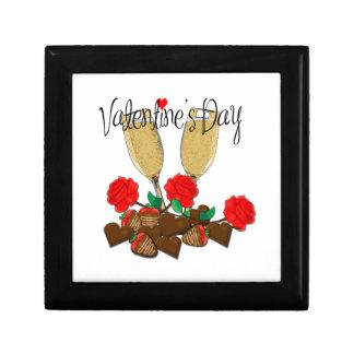 Het ontwerp van de Valentijnsdag Decoratiedoosje