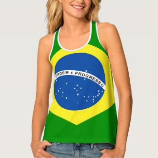 Het Ontwerp van de Vlag van Brazilië Tanktop