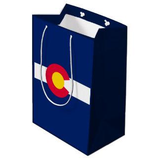 Het Ontwerp van de Vlag van de Staat van Colorado Medium Cadeauzakje