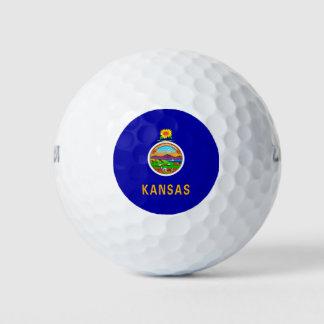 Het Ontwerp van de Vlag van de Staat van Kansas Golfballen