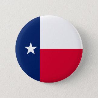 Het Ontwerp van de Vlag van de Staat van Texas Ronde Button 5,7 Cm