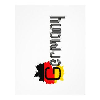 Het ontwerp van de Vlag van Duitsland! Folders