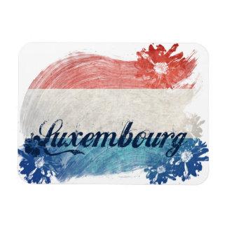Het Ontwerp van de Vlag van Luxemburg Magneet