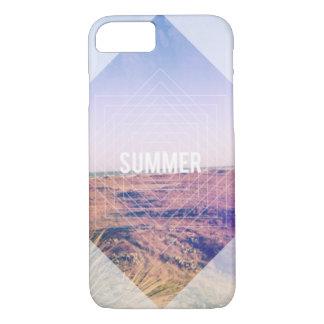 Het Ontwerp van de zomer op de Foto van het Strand iPhone 7 Hoesje