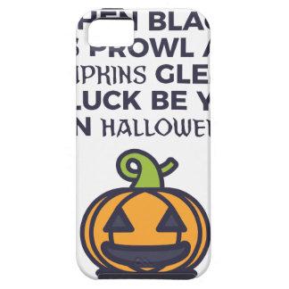 Het Ontwerp van Halloween van de Pompoenen van de Tough iPhone 5 Hoesje