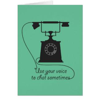 Het ontwerp van het citaat om communicatie poster briefkaarten 0
