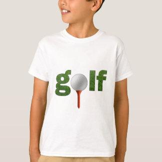 Het Ontwerp van het Golf van de pret T Shirt