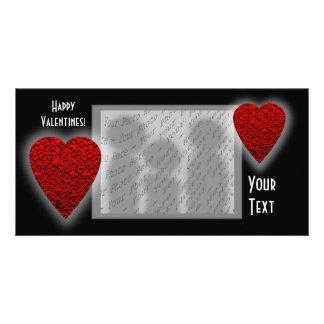 Het Ontwerp van het hart. De Dag van Valentijn Kaart