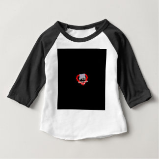 Het Ontwerp van het Hart van de kaars voor de Baby T Shirts