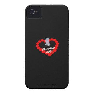 Het Ontwerp van het Hart van de kaars voor de iPhone 4 Hoesje