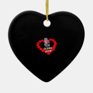 Het Ontwerp van het Hart van de kaars voor de Keramisch Hart Ornament