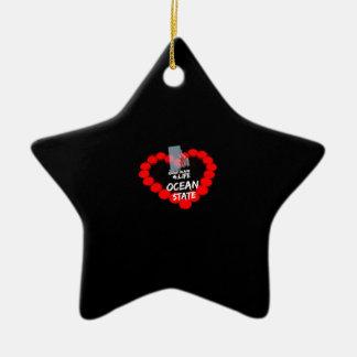 Het Ontwerp van het Hart van de kaars voor de Keramisch Ster Ornament