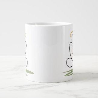 Het Ontwerp van het Man van de meditatie 20 oz. Grote Koffiekop