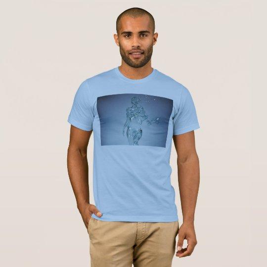Het Ontwerp van het Meisje van het glas T Shirt