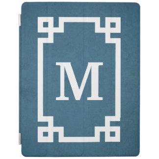 Het ontwerp van het monogram iPad cover