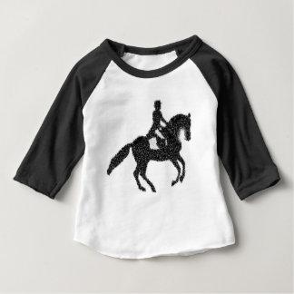 Het Ontwerp van het Mozaïek van het Paard en van Baby T Shirts